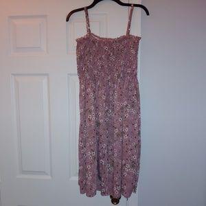 SheIn strapless cami elastic dress